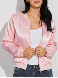 Comfy Girls Tour Satin Jacket -