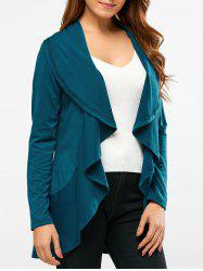 Asymmetrical Patchwork Cardigan -