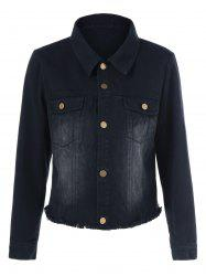 Sequined Mouth Shirt Jacket -