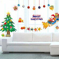 Removable Merry Christmas DIY Home Decoration Wall Stickers