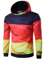 Hooded 3D Flag of Germany Print Hoodie
