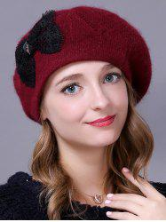 Outdoor Knitted Bowknot Slouchy Hat -