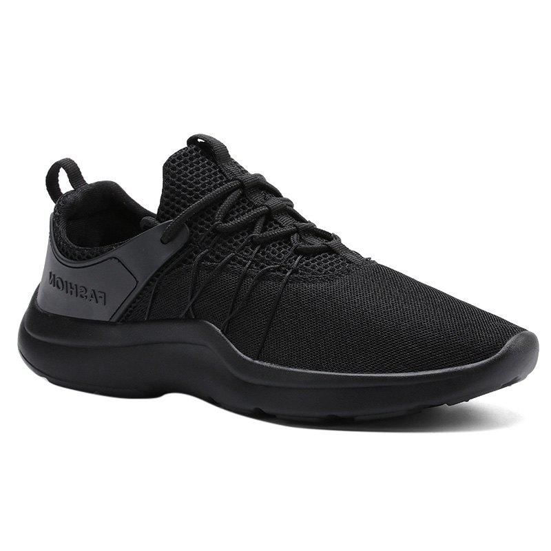 Hot Lace Up Mesh Athletic Shoes
