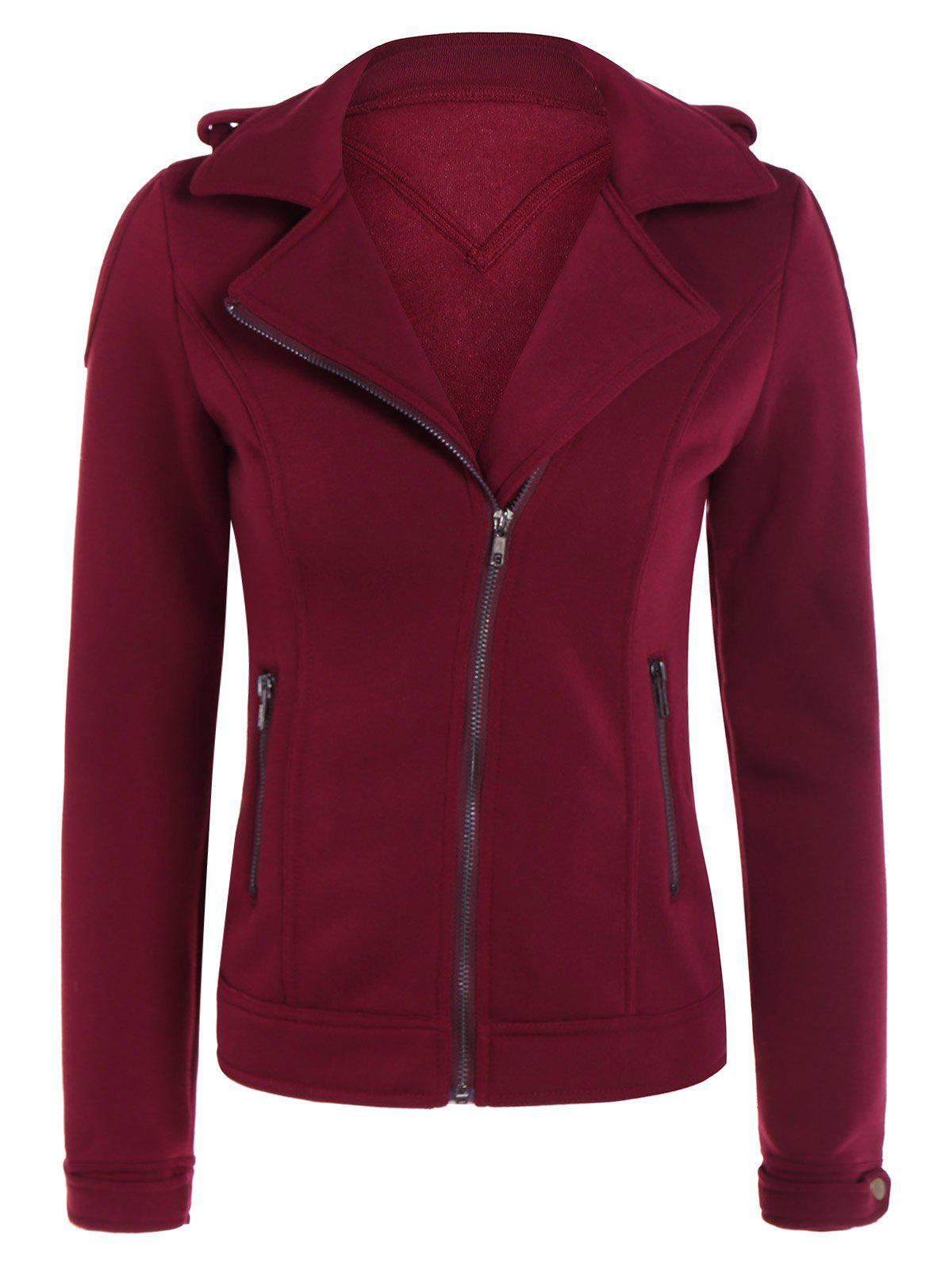 Outfits Cotton Zip-Up Thickening Winter Jacket