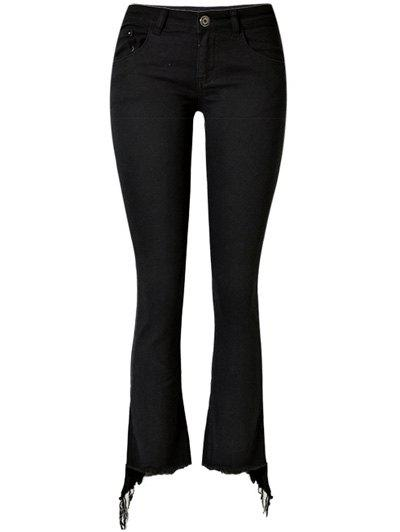 Cheap Stretchy Asymmetrical Slimming Jeans