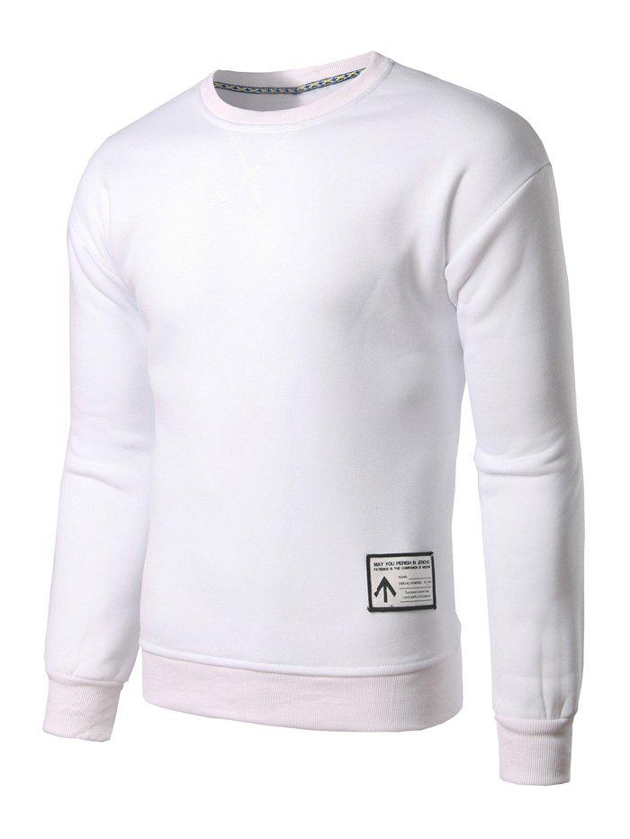 Sweat-shirt Ras du Cou Applique