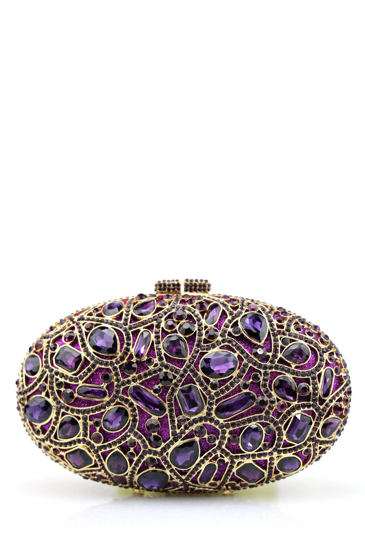 Best Oval Rhinestone Evening Bag