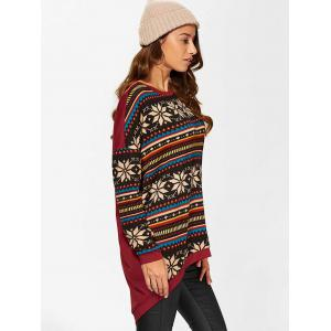 High Low Pullover - COLORMIX L