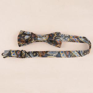 Casual Classic Cashews Pattern Tie Pocket Square Bow Tie -