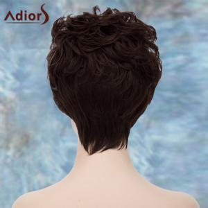Adiors Double Color Short Fluffy Curly Lolita Cosplay Synthetic Wig -