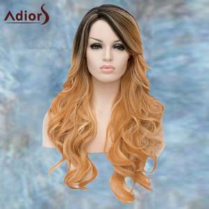Adiors Long Side Bang Wavy Mixed Color Lolita Synthetic Wig -
