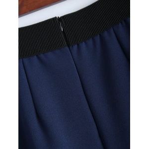 Embroidered A Line Skirt -