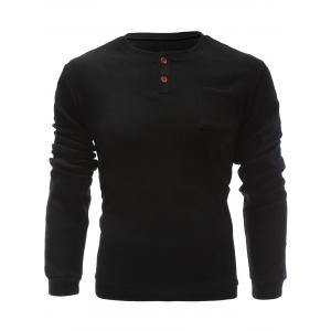One Pocket Single Breasted Sweatshirt