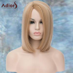 Adiors Medium Straight Highlight Side Parting Synthetic Wig -