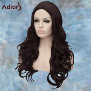 Adiors Long Middle Parting Wavy Synthetic Wig -
