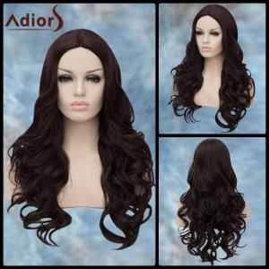 Adiors Long Middle Parting Wavy Synthetic Wig