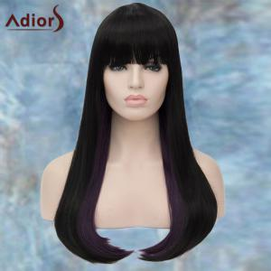 Adiors Long Full Bang Straight Synthetic Wig -