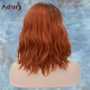 Adiors Medium Side Parting Colormix Wavy Fluffy Synthetic Wig -