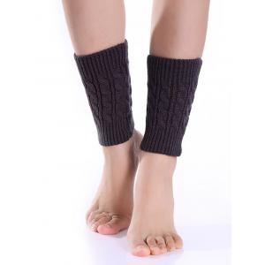 Cable Knitted Boot Cuffs