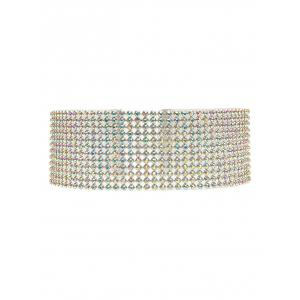Rhinestoned Necklace -
