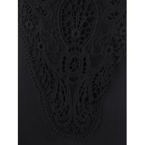 Lace Insert Tank Top -