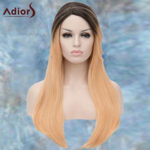 Adiors Long Colormix Straight Side Parting Synthetic Wig -