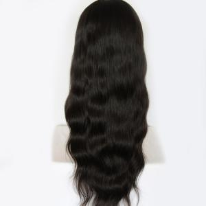 Long Body Wave Centre Parting Brazilian Lace Front Human Hair Wig -