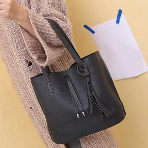 Crossbody Bag and Tassels Tote -