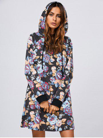 Shop Floral Hooded Dress
