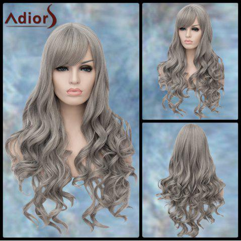 Shops Adiors Long Side Parting Wavy Lolita Synthetic Wig GRAY