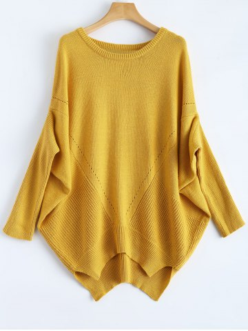 Unique Relaxed Fit Batwing Sweater