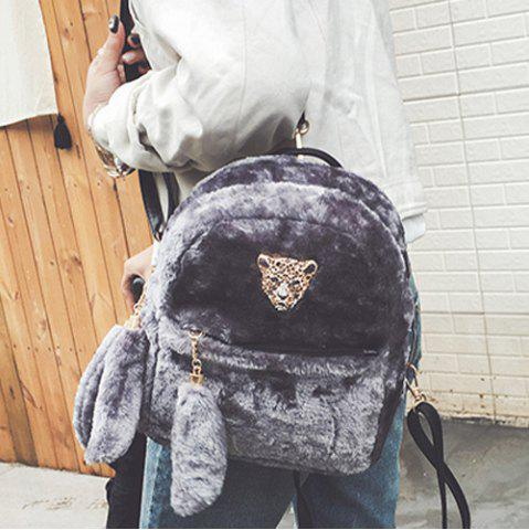 Hot Faux Fur Backpack