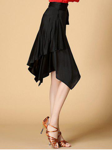 Outfit Belted Asymmetrical Dance Skirt