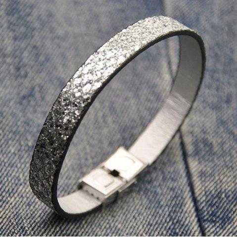 Outfits Artificial Leather Bracelet SILVER