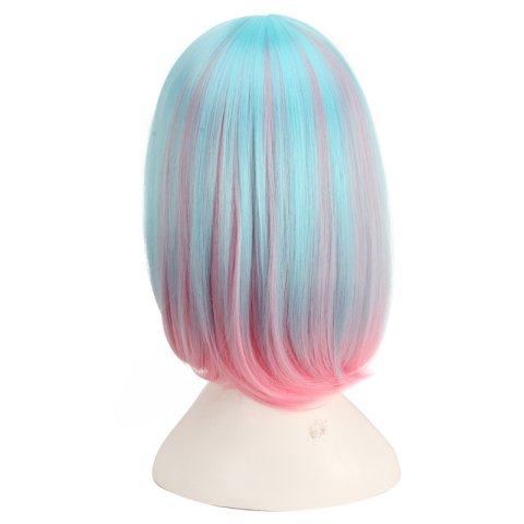 Discount Medium Side Bang Colored Straight Cosplay Synthetic Wig - COLORMIX  Mobile
