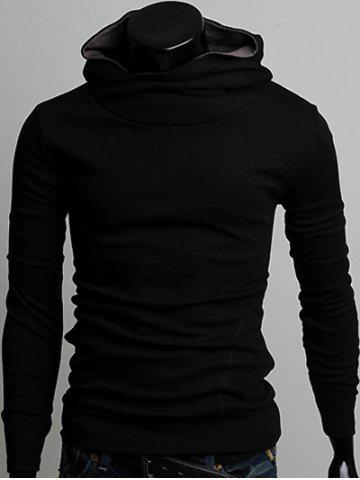 New Long Sleeve Pullover Plain Hoodie