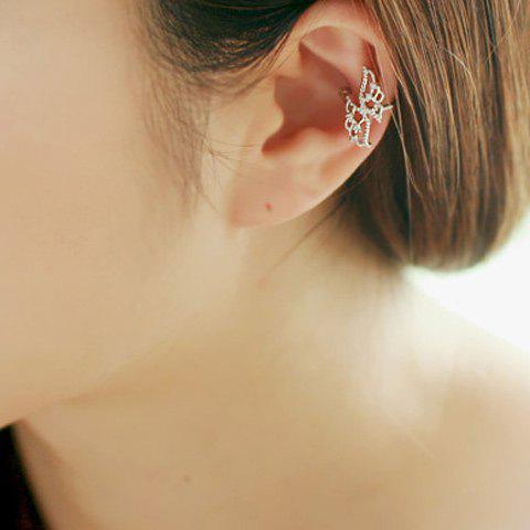 Sale ONE PIECE Rhinestone Angel Wings Ear Cuff