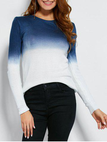 Fashion Gradient Color Jumper