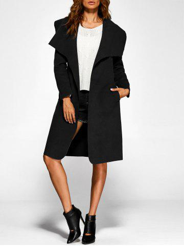 Shops Belted Wrap Shawl Duster Coat