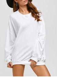 Active Batwing Sweatshirt Dress