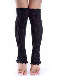 Cable Knit Leg Warmers -