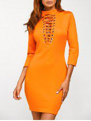 Criss Cross Bodycon Dress
