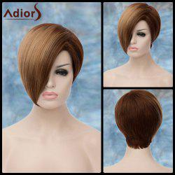 Adiors Short Side Parting Highlight Straight Synthetic Wig -