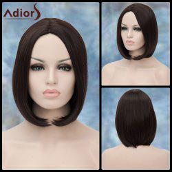 Adiors Short Centre Parting Straight Bob Synthetic Wig -