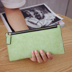 PU Leather Zip Up Coin Purse