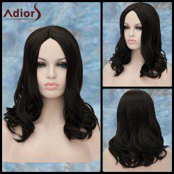 Adiors Medium Centre Parting Wavy Synthetic Wig