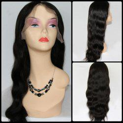 Long Body Wave Centre Parting Brazilian Lace Front Human Hair Wig