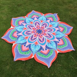 Flower Beach Throw -