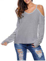Cami Cold Shoulder Loose Knitwear
