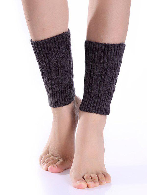 Latest Cable Knitted Boot Cuffs